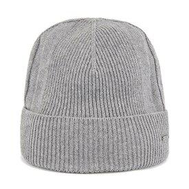 ヒューゴボス メンズ 帽子 アクセサリー BOSS Men's T-Marietto Beanie Hat Silver