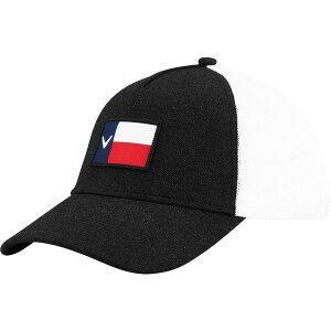 キャラウェイ メンズ 帽子 アクセサリー Callaway Men's Texas Trucker Golf Hat Black