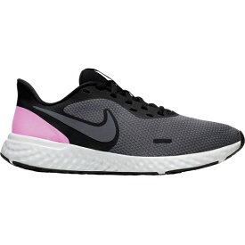 ナイキ レディース ランニング スポーツ Nike Women's Revolution 5 Running Shoes Black/Pink/Grey
