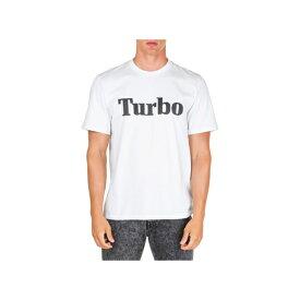 エムエスジイエム メンズ カットソー トップス MSGM Short Sleeve T-shirt Crew Neckline Jumper Turbo Bianco