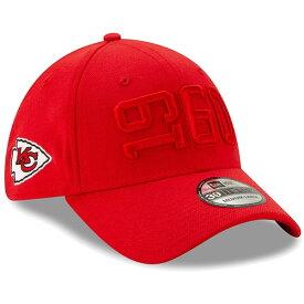 ニューエラ メンズ 帽子 アクセサリー Kansas City Chiefs New Era 2019 NFL Sideline Color Rush 39THIRTY Flex Hat Red