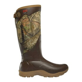 "ラクロス メンズ ブーツ&レインブーツ シューズ Alpha Agility 17"" 800G Hunting Boot Mossy Oak Break-Up Country Rubber/Neoprene"