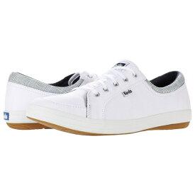ケッズ レディース スニーカー シューズ Tour Canvas/Stripe Sneaker White/Navy