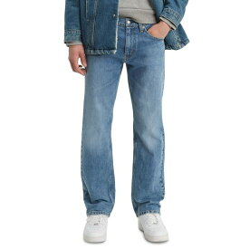 リーバイス メンズ デニムパンツ ボトムス Men's Big & Tall 559 Relaxed Straight Fit Jeans Aloe Subtle Light Blue