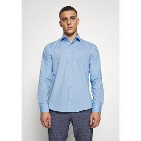 カルバン クライン テイラード メンズ シャツ トップス STRETCH - Formal shirt - light blue