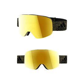 アディダス レディース サングラス&アイウェア アクセサリー adidas Backland Spherical Mirrored Snowsports Goggles Olive Cargo Matte/ Gold