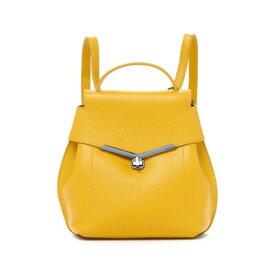 ボトキエ レディース バックパック・リュックサック バッグ Valentina Mini Convertible Leather Backpack MARIGOLD-HPMGL