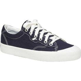 ケッズ レディース スニーカー シューズ Crew Kick 75 Sneaker Navy Organic Canvas