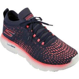 スケッチャーズ レディース スニーカー シューズ GOrun MaxRoad 4 Hyper Running Shoe Navy/Pink