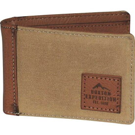 バクストン メンズ 財布 アクセサリー Expedition II Huntington Gear RFID Slimfold Wallet Tan