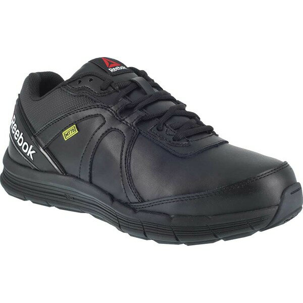 リーボック メンズ スニーカー シューズ Guide Work RB3506 Steel Toe Athletic Oxford Black Leather