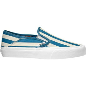 バンズ レディース スニーカー シューズ Slip-On SF Sneaker Vintage Rio Stripes Textile/Blue Sapphire
