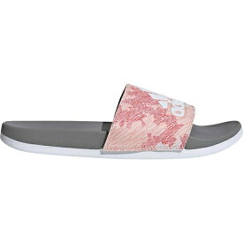 アディダス レディース サンダル シューズ Adilette Comfort Slide Dust Pink/FTWR White/Grey Three F17