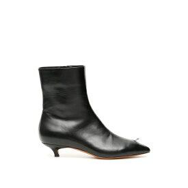 マルニ レディース ブーツ&レインブーツ シューズ Marni Piercing Ankle Booties -