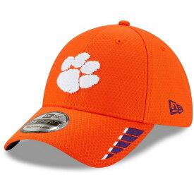 ニューエラ メンズ 帽子 アクセサリー Clemson Tigers New Era Rush 39THIRTY Flex Hat Orange