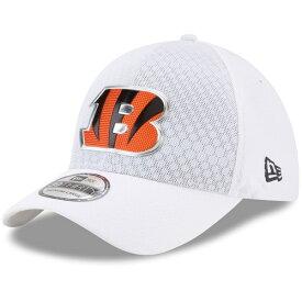 ニューエラ メンズ 帽子 アクセサリー Cincinnati Bengals New Era 2017 Color Rush 39THIRTY Flex Hat White
