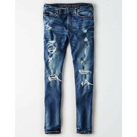 【当日出荷】 アメリカンイーグル メンズ デニムパンツ American Eagle AE Ne(X)t Level Skinny Jean Medium Bright Indigo 【サイズ US28×34】
