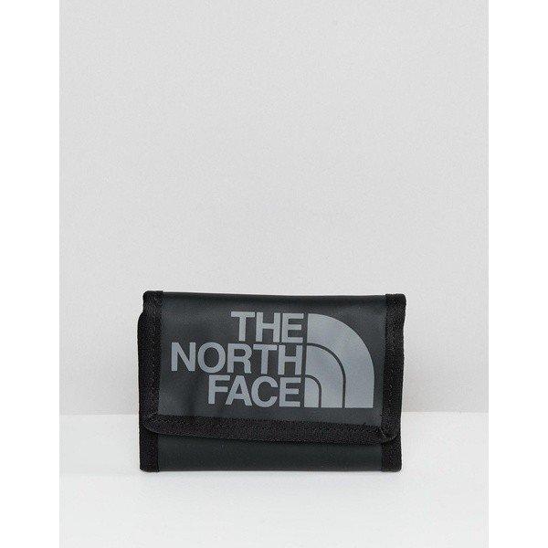 【当日出荷】 ノースフェイス メンズ 財布 The North Face Base Camp Wallet in Black Black 【サイズ onesize】