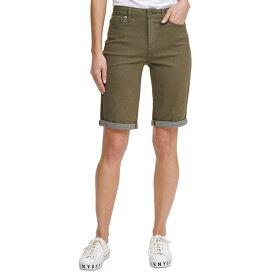 ダナキャランニューヨーク レディース カジュアルパンツ ボトムス Solid Bermuda Shorts Rosemary