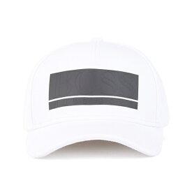 ヒューゴボス メンズ 帽子 アクセサリー BOSS Men's Stretch-Fabric Cap White