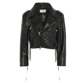 マルタンマルジェラ レディース ジャケット&ブルゾン アウター Maison Margiela Faux Leather Biker Jacket -