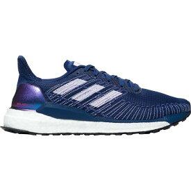 アディダス レディース ランニング スポーツ Solar Boost Running Shoe - Women's Silver Metallic/Purple Tint/Solar Red
