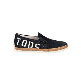 トッズ メンズ スニーカー シューズ Tod's Denim Slip-on Sneakers Denim