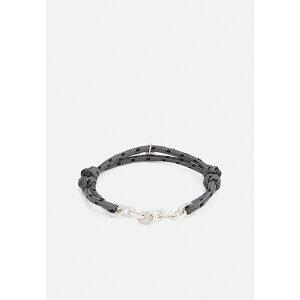 アイコンブランド メンズ ブレスレット・バングル・アンクレット アクセサリー MILITARY PRECISION CHAIN AND ABSEIL BRACELET - Bracelet - black
