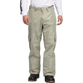 アディダス メンズ スノーボード スポーツ 10K Cargo Pant - Men's Feather Grey/Signal Orange