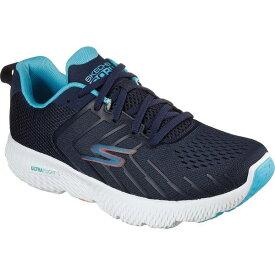 スケッチャーズ レディース スニーカー シューズ Women's Skechers GOrun Power Fleetz Running Shoe Navy/Blue