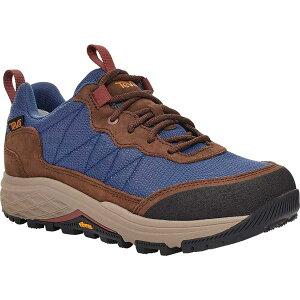 テバ レディース スニーカー シューズ Women's Teva Ridgeview Low RP Waterproof Sneaker Blue Indigo Leather/Textile