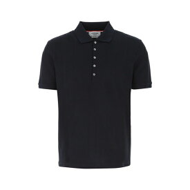 トムブラウン メンズ ポロシャツ トップス Thom Browne 4-Bar Polo Shirt -