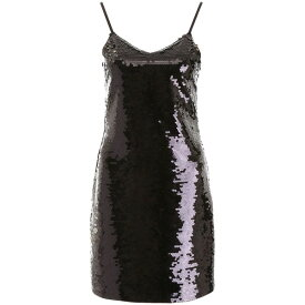 マイケルコース レディース ワンピース トップス MICHAEL Michael Kors Sequins Mini Dress BLACKBlack