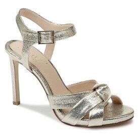 ジュウェルダグレイミシュカ レディース サンダル シューズ Jewel Badgley Mischka Richmond Sandal (Women) Light Gold Metallic