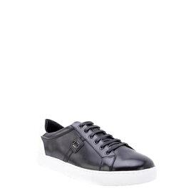 ザンザラ メンズ スニーカー シューズ Scheffer Low Top Sneaker BLACK