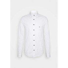 カルバン クライン テイラード メンズ シャツ トップス LOGO STRETCH EXTRA SLIM - Formal shirt - white