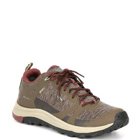 キーン レディース スニーカー シューズ Women's Terradora Waterproof Lace-Up Breathable Hiker Shoes Canteen/Andorra
