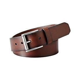 フォッシル メンズ ベルト アクセサリー Dacey Leather Belt Dark Brown