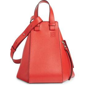 ロエベ レディース ハンドバッグ バッグ Loewe Hammock Small Leather Hobo Scarlet Red