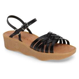 ファモレア レディース サンダル シューズ Famolare Strappy Camper Sandal (Women) Coal Leather