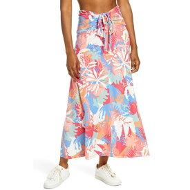 パタゴニア レディース スカート ボトムス Patagonia Kamala Maxi Skirt Wild Waratah Big/ Pink