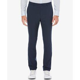 ペリーエリス メンズ カジュアルパンツ ボトムス Extra Slim-Fit Solid Water Repellent Men's Dress Pants Ink Blue