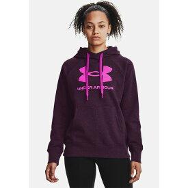 アンダーアーマー レディース パーカー・スウェットシャツ アウター Hoodie - polaris purple vbkz0124