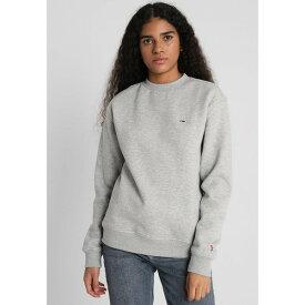 トミーヒルフィガー レディース パーカー・スウェットシャツ アウター CLASSICS - Sweatshirt - light grey vcln0287