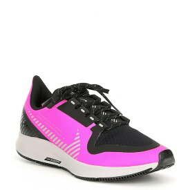 ナイキ レディース スニーカー シューズ Women's Air Zoom Pegasus 36 Shield Water-Repellent Running Shoes Fire Pink/Black/Atmosphere Grey/Silver