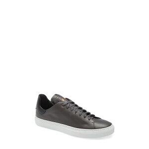 グッドマンブランド メンズ スニーカー シューズ Legend Z Low Top Modern Core Sneaker Charcoal / Black