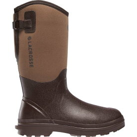 ラクロス メンズ ブーツ&レインブーツ シューズ LaCrosse Men's Alpha Range Air Circ Rubber Hunting Boots Brown