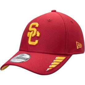ニューエラ メンズ 帽子 アクセサリー USC Trojans New Era Rush 39THIRTY Flex Hat Cardinal