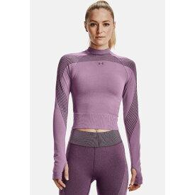 アンダーアーマー レディース カットソー トップス Sports shirt - polaris purple vhah01ff
