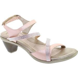 ナオト レディース サンダル シューズ Women's Naot Innovate Heeled Sandal Pearl Rose/Silver Rivet Leather